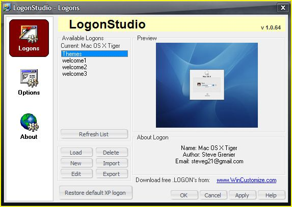 Logon Studio Vista_2